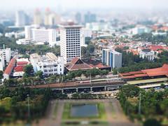 Minature of Jakarta