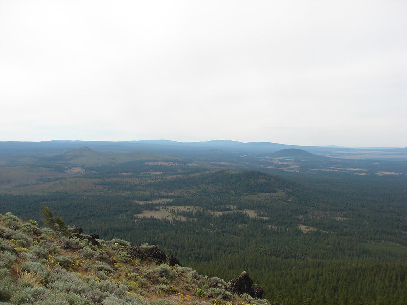 Gearhart Mountain from Hager Mountain