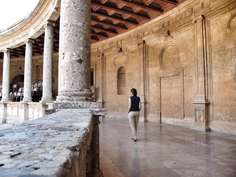 la alhambra de granada_palacio carlos V_hispania nostra_III