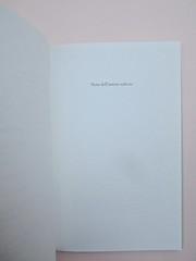 Ortografia della neve, di Francesco Balsamo. incertieditori 2010. Progetto grafico di officina delle immagini. Pag. 47 (part.), 1