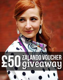 £50 Zalando voucher giveaway