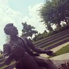 Downtown Abe  #2014instagram365 #downtown #lincoln #abraham #abrahamLincoln #waterfront #louisville