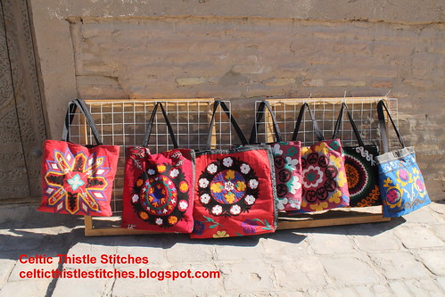 Applique bags Khiva