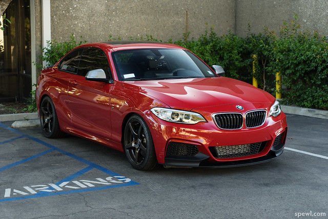 Bmw Charleston Sc >> Pedal Haus Front License Plate Mount, M-Perf Lip, IND Painted Reflectors Installed