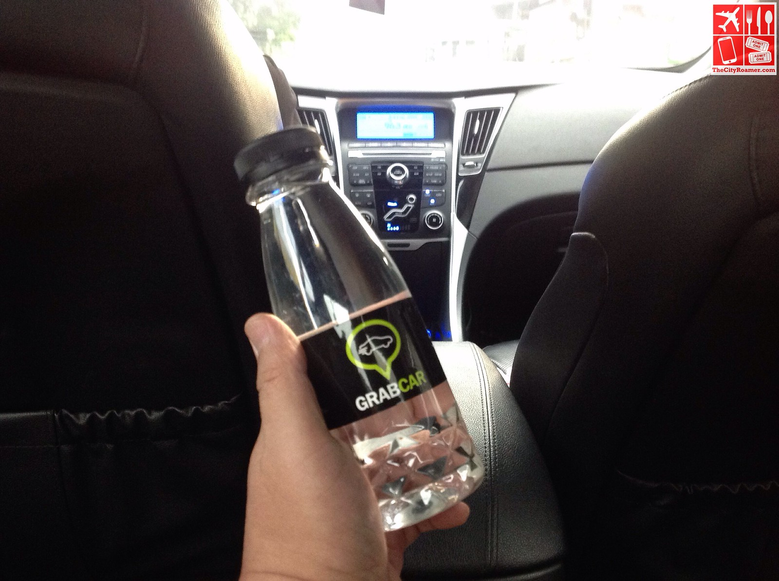 GrabCar Offers Riders a Free Bottle of Water