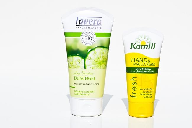 Schön für mich, Rossmann, sfmbox, Beautybox, Schön für mich Juni 2014, Lavera, Kamill, Lime Sensation