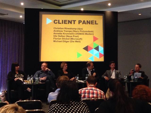 Medien-Panel auf der CEPIC