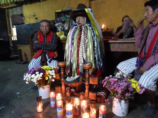 Maximón (Santiago Atitlán, Guatemala)