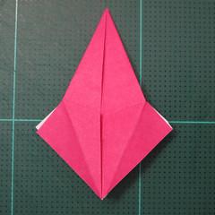 การพับกระดาษแบบโมดูล่าเป็นดาวสปาราซิส (Modular Origami Sparaxis Star) 011