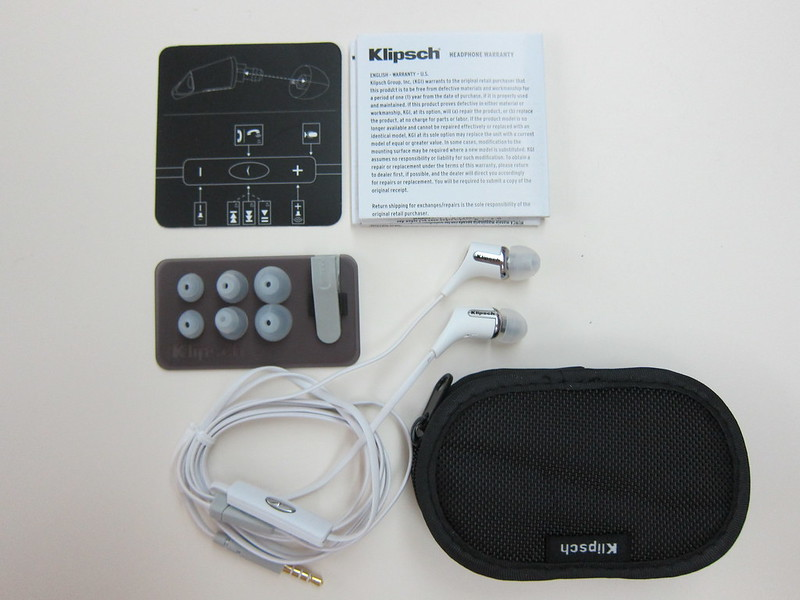 Klipsch Reference R6i - Box Contents