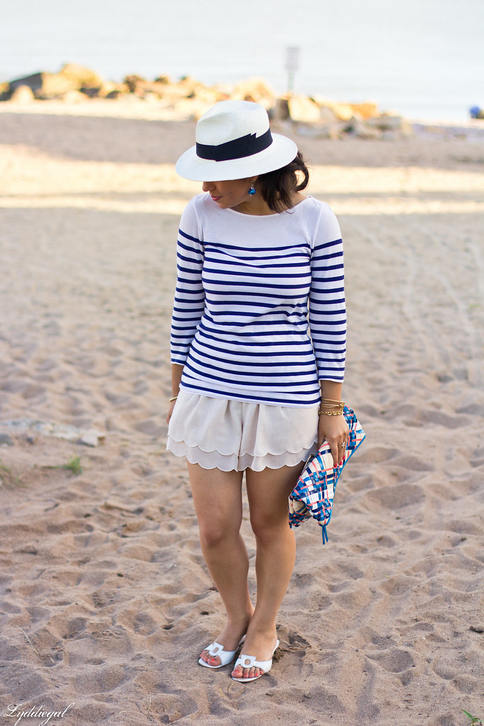 striped shirt, scalloped shorts, panama hat-2.jpg