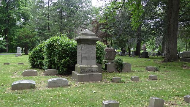 Brookside Cemetery, Chapman plot