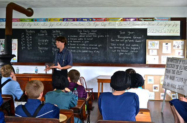 One Room Classroom - Amish Village Lancaster County PA