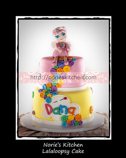 Norie's Kitchen - Lalaloopsy Cake