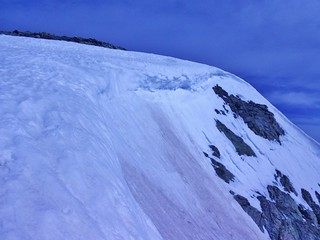 Cornices on Mt. Hope