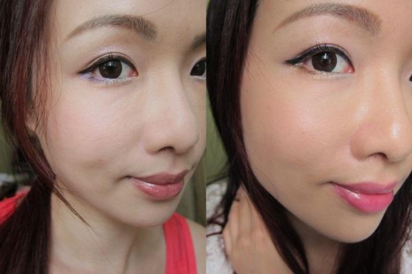 shu uemura ★ 炫彩防水眼線化出兩個不同的妝容