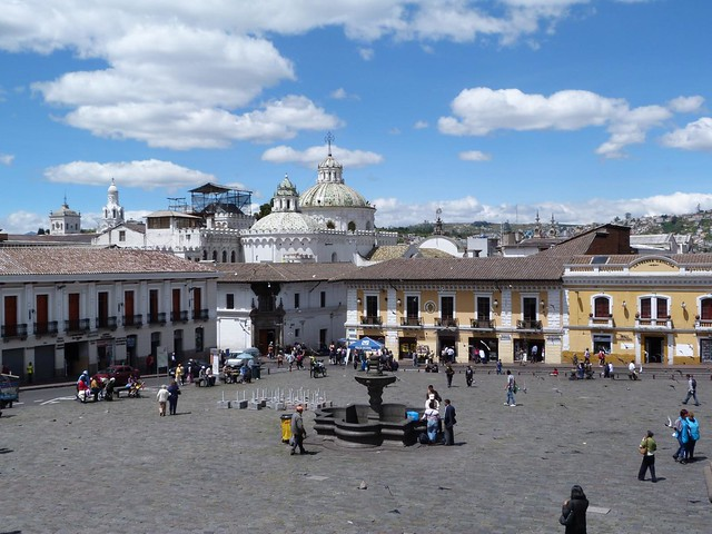 Plaza de San Francisco de Quito (Ecuador)
