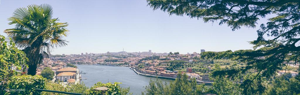 Vue panoramique des Jardins du Palais de Cristal sur Porto - Photo de Chill