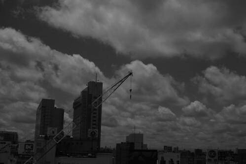 Tokyo Sky B/W