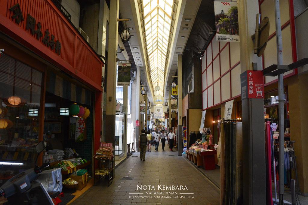 Backpacker Ciput Main Redah di Jepun 6 Membeli belah di Nara