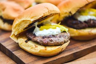 Mini Gyro Burgers