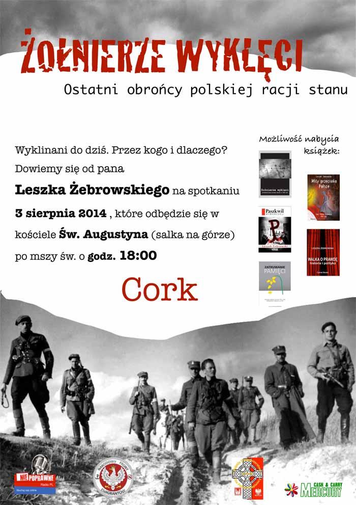Leszek Zebrowski w Cork