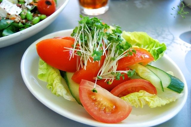 Tomato Salad at Urban Meadow Cafe, Bayswater