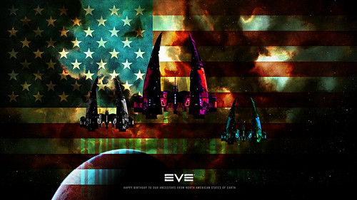 Eve Online Fourth of July Wallpaper