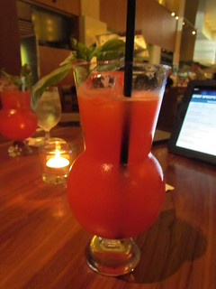 Strawberry Basil Vanilla Lemonade at Yew