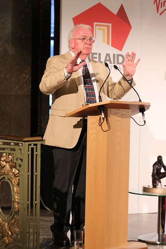 David Hill delivers a lecture on Matthew Flinders at Australia House, London