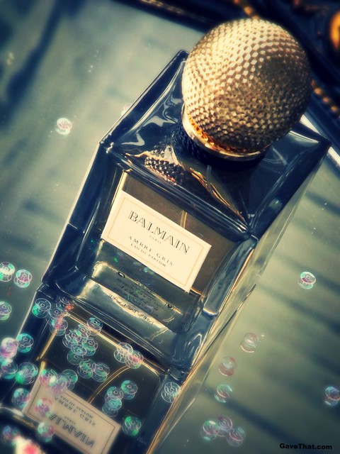 Balmain Ambre Gris Gray Amber Perfume