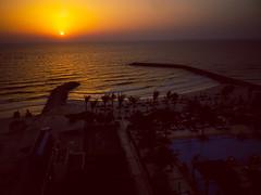 Sunset view at the Ajman Saray