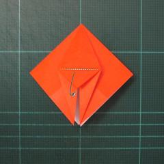 วิธีพับกระดาษเป็นที่คั่นหนังสือรูปผีเสื้อ (Origami Butterfly Bookmark) 018