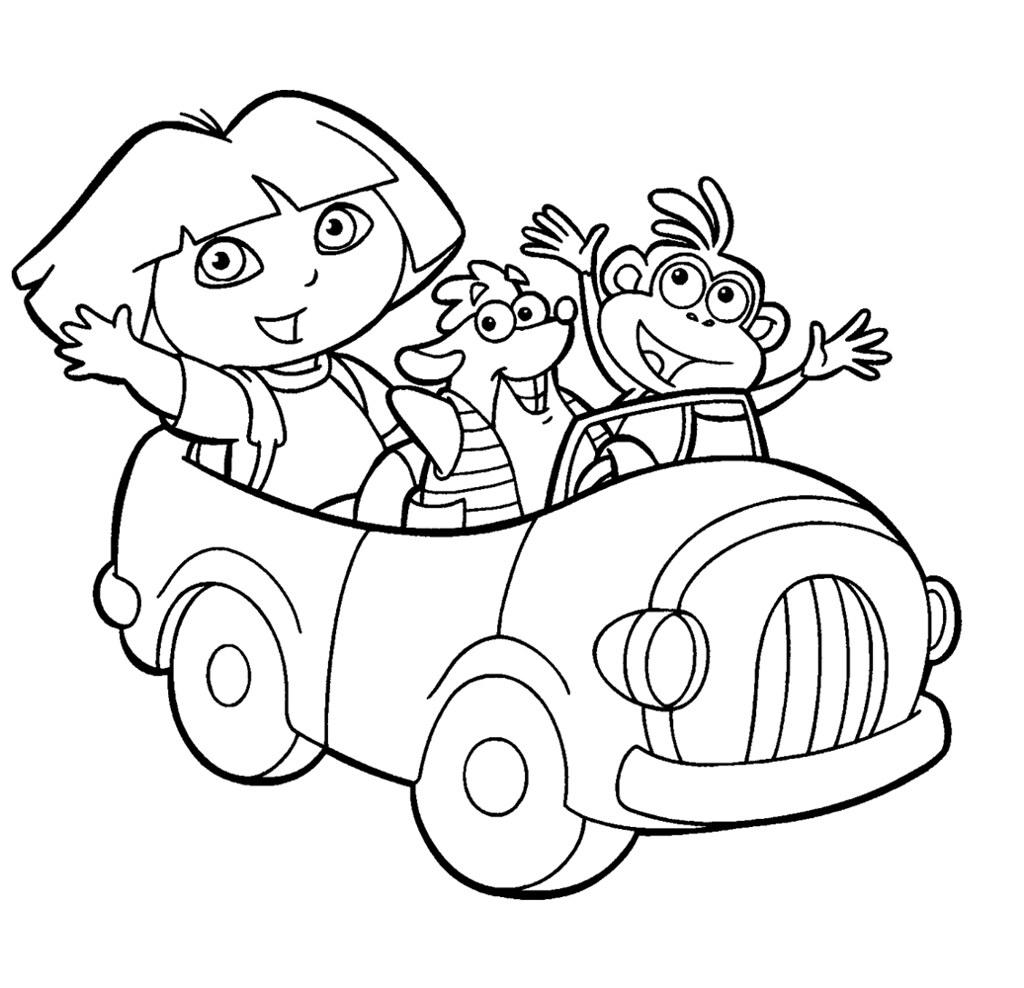 All Sizes Carro Dora Desenhos Para Imprimir E Colorir Da Disney