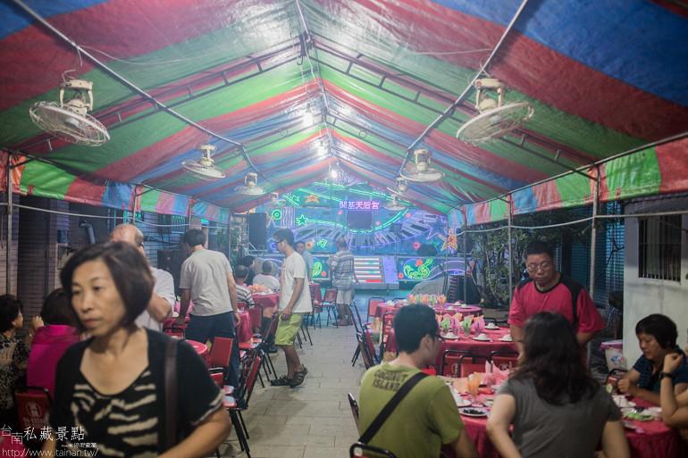 台南私藏景點-開基天后宮呷辦桌 (1)
