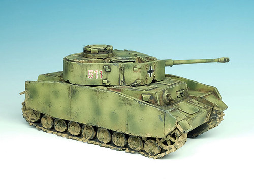 Panzer IV 28mm Scale