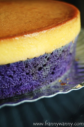 frannywanny a food and travel blog ube leche flan cake