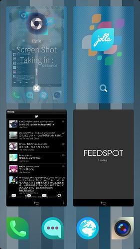 Android appがそれぞれのウインドウでタスクマネージャに並んでる!