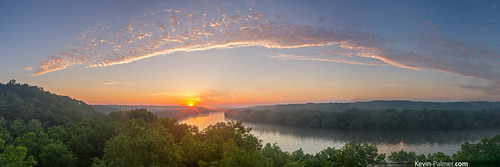statepark morning trees summer panorama orange green yellow misty fog clouds oregon sunrise gold dawn golden early illinois colorful foggy july panoramic bluff rockriver graduatedneutraldensityfilter kevinpalmer tamron1750mmf28 catlerock pentaxk5
