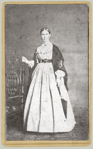 CDV woman portrait
