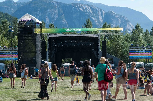 2014 Squamish Valley Music Festival Stawamus Stage