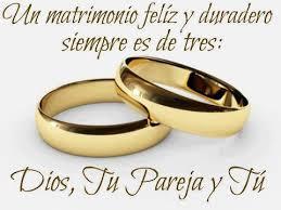 El Matrimonio Cristiano Es Cosa De Tres