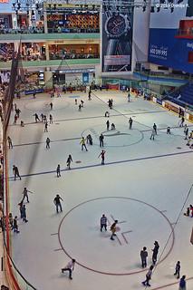 Dubai Ice Rink @ Dubai Mall