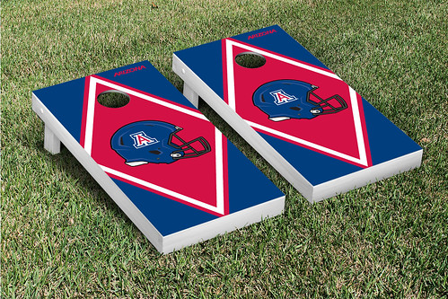 Arizona Wildcats Cornhole Game Set Diamond