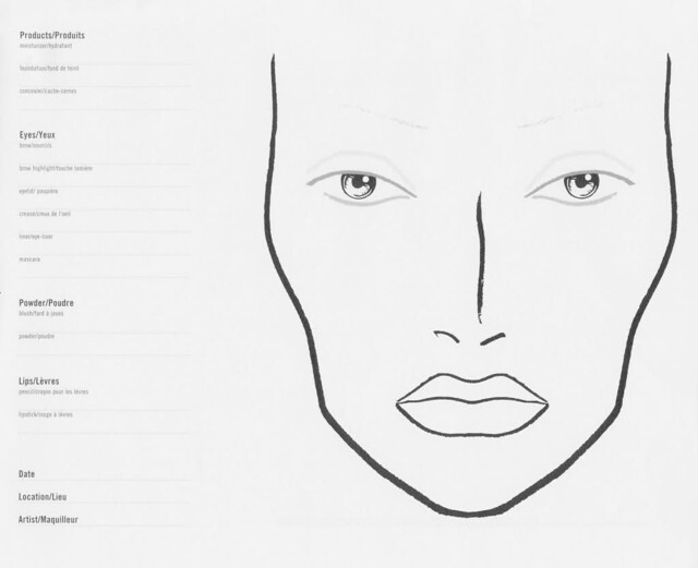 187 Blog Archive Face Charts Saiba Como Usar
