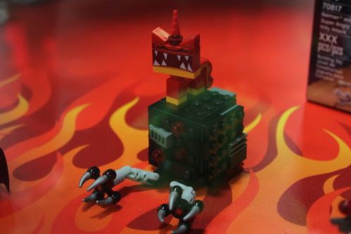 The LEGO Movie Batman and Super Angry Kitty Attack (70817)