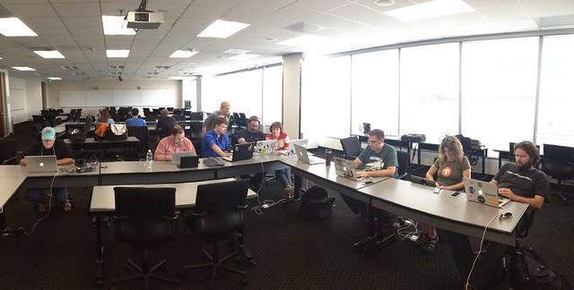 Hackathon slowdown