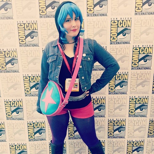 Do you know a girl with hair like this?  #sdcc #sdcc2014 @radiomaru