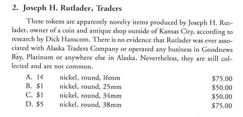 Joseph Rutlader token listing