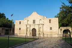 The Alamo - San Antonio - Texas - 09 July 2014
